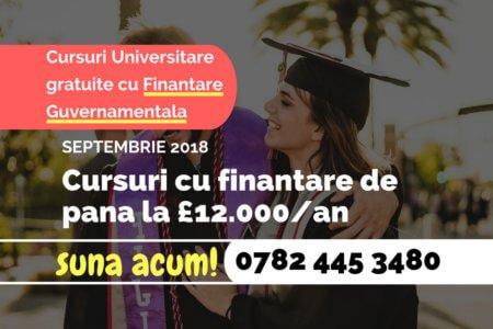 Cursuri Universitare cu finantare guvernamentala - v1.1