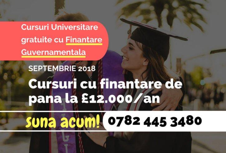 Cursuri Universitare gratuite cu Finantare Guvernamentala - Image 1