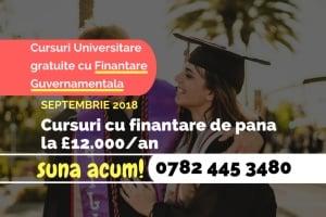 Cursuri Universitare Finantare Guvernamentala