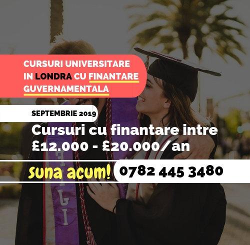 Cursuri Universitare in Londra cu Finantare Guvernamentala - Image 1