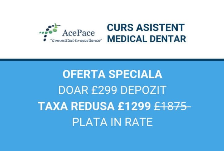 Curs Asistent Medical Dentar by AcePace Training - Image 1