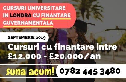 Cursuri Universitare gratuite cu Finantare Guvernamentala