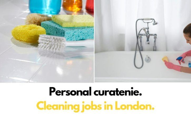 Personal curatenie - cleaning jobs - Londra