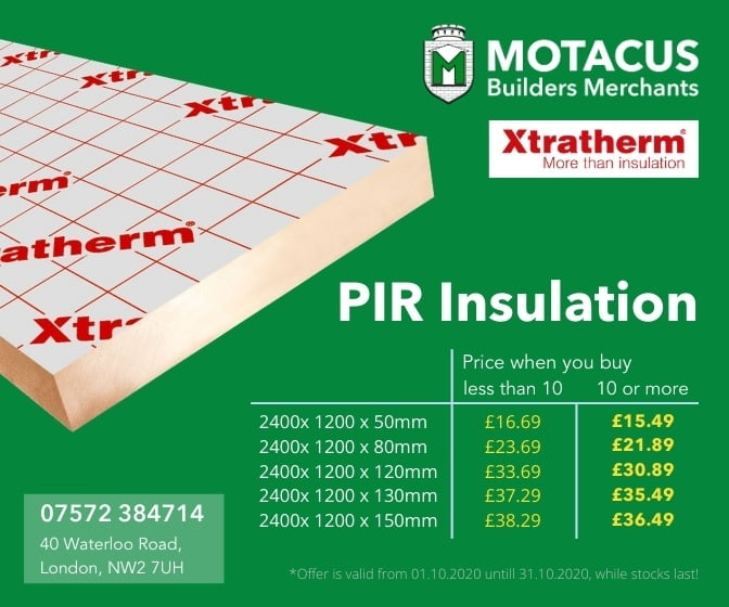 PIR INSULATION OFFER
